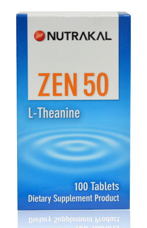 ZEN : L-Theanine, natural relaxant from green tea