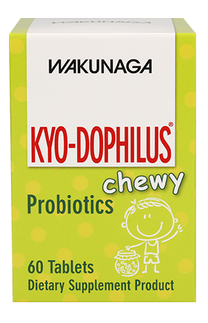 Kyo-Dophilus Chewy : Friendly Trio Probiotics